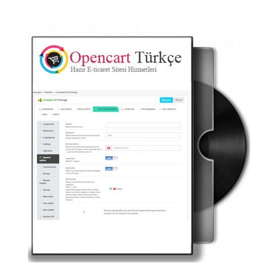 Opencart Seo Modülü