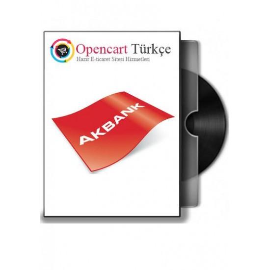 Akbank Opencart Sanalpos