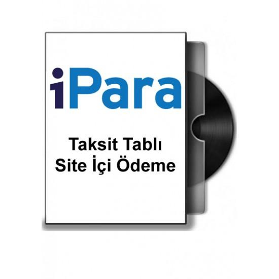 Opencart i-para Sanal Pos Taksit Tablı