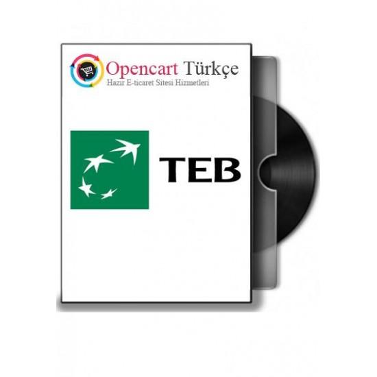 Teb-Bankasi Opencart Sanal Pos