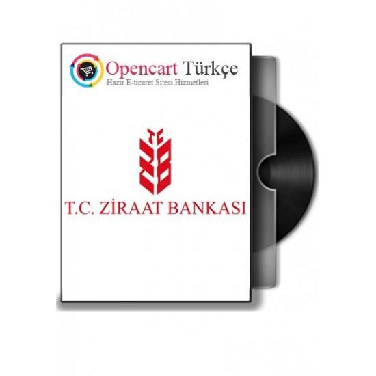 Ziraat-Bankası Opencart Sanal-pos