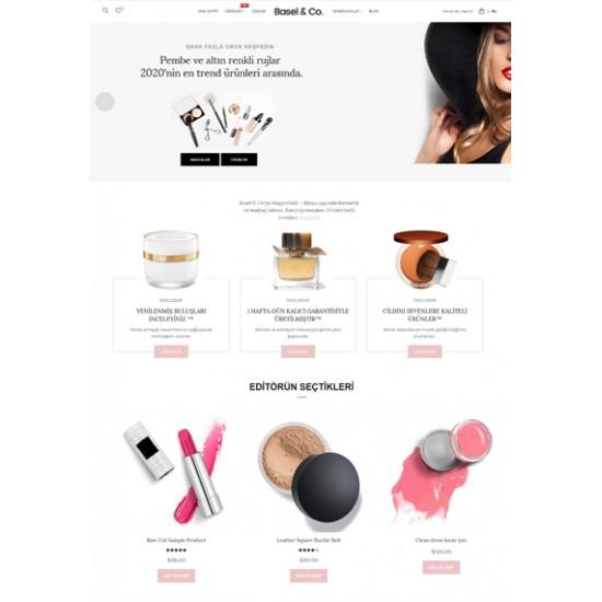 Opencart Kozmetik Teması