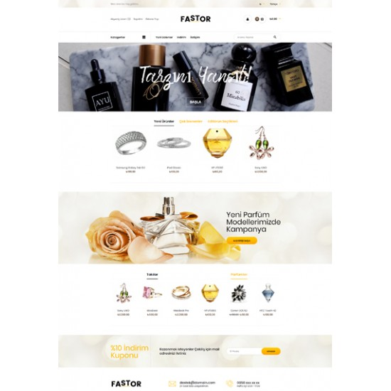 Opencart Kozmetik Tema