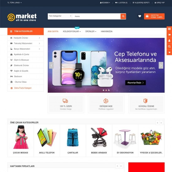 Opencart Shop Themes