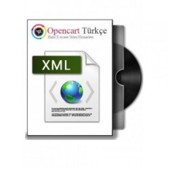 Opencart XML Entegrasyon Modülü